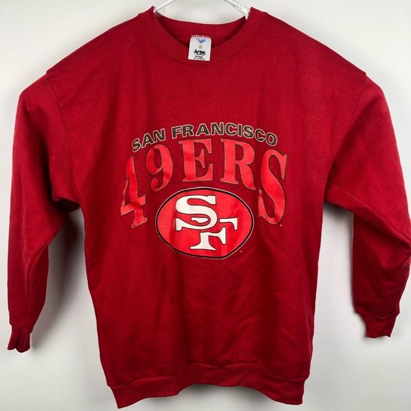 best service 3eba0 b5c7b VTG San Francisco 49ers Sweater XXL Artex Crewneck